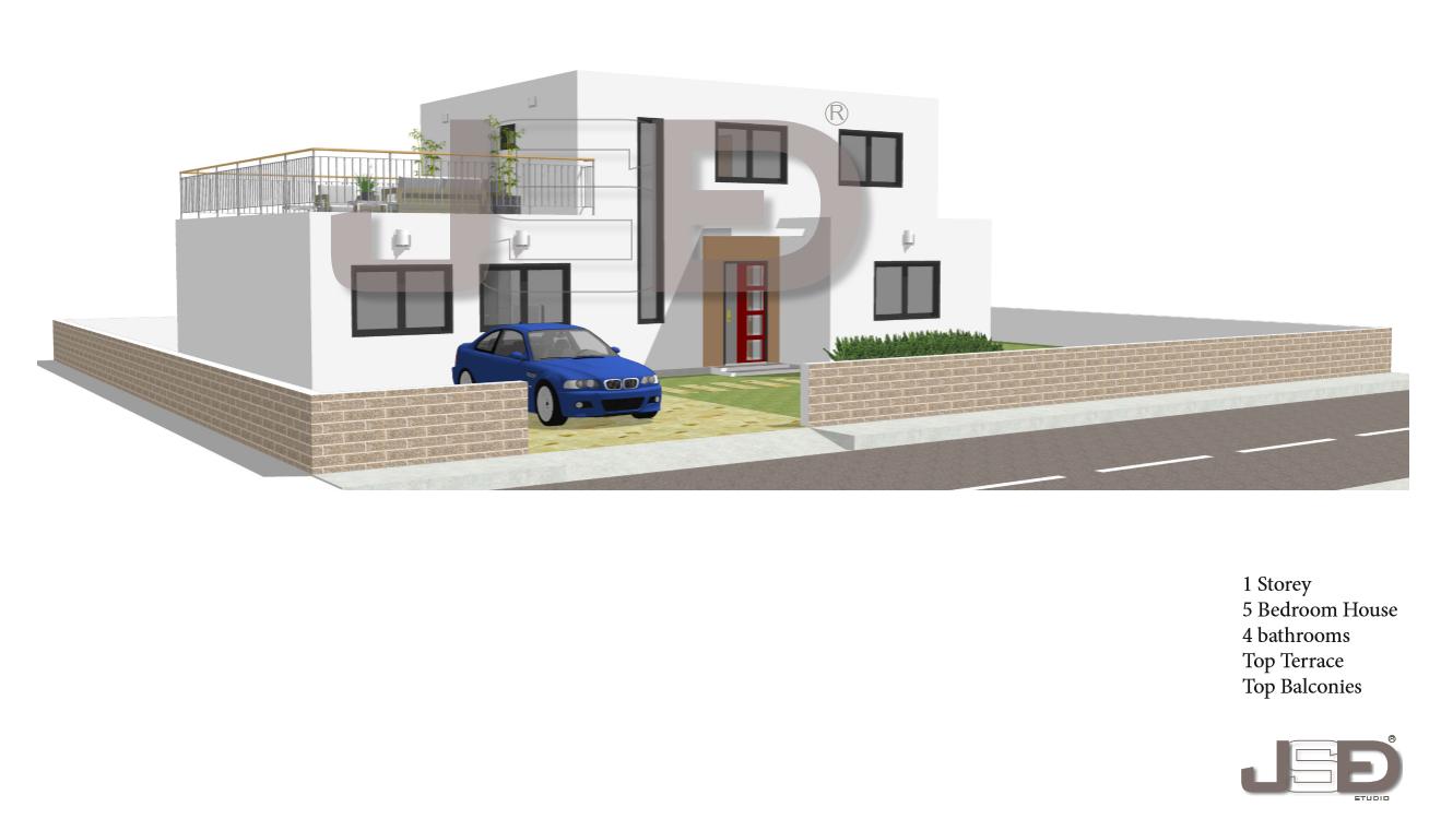 5 Bedroom Modern House Design on sale for affordable price ...